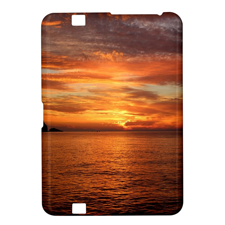 Sunset Sea Afterglow Boot Kindle Fire HD 8.9