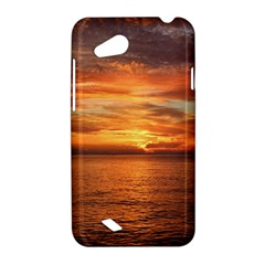 Sunset Sea Afterglow Boot HTC Desire VC (T328D) Hardshell Case