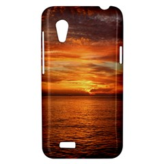Sunset Sea Afterglow Boot HTC Desire VT (T328T) Hardshell Case