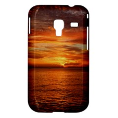 Sunset Sea Afterglow Boot Samsung Galaxy Ace Plus S7500 Hardshell Case