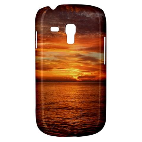 Sunset Sea Afterglow Boot Samsung Galaxy S3 MINI I8190 Hardshell Case