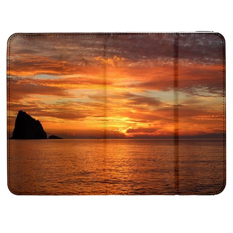 Sunset Sea Afterglow Boot Samsung Galaxy Tab 7  P1000 Flip Case