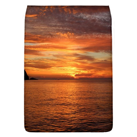 Sunset Sea Afterglow Boot Flap Covers (L)