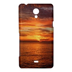 Sunset Sea Afterglow Boot Sony Xperia T