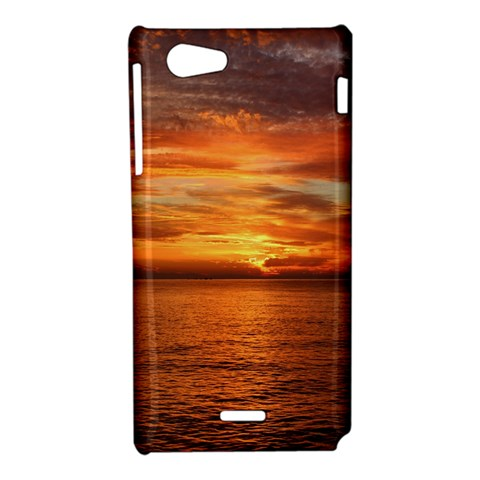 Sunset Sea Afterglow Boot Sony Xperia J