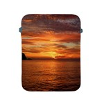 Sunset Sea Afterglow Boot Apple iPad 2/3/4 Protective Soft Cases Front
