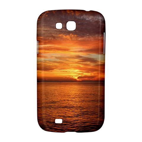 Sunset Sea Afterglow Boot Samsung Galaxy Grand GT-I9128 Hardshell Case