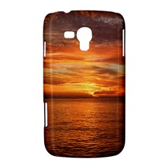 Sunset Sea Afterglow Boot Samsung Galaxy Duos I8262 Hardshell Case