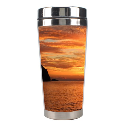 Sunset Sea Afterglow Boot Stainless Steel Travel Tumblers