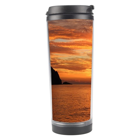 Sunset Sea Afterglow Boot Travel Tumbler