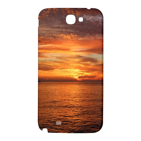 Sunset Sea Afterglow Boot Samsung Note 2 N7100 Hardshell Back Case