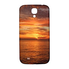 Sunset Sea Afterglow Boot Samsung Galaxy S4 I9500/I9505  Hardshell Back Case