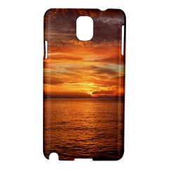 Sunset Sea Afterglow Boot Samsung Galaxy Note 3 N9005 Hardshell Case