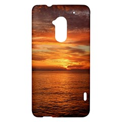 Sunset Sea Afterglow Boot HTC One Max (T6) Hardshell Case