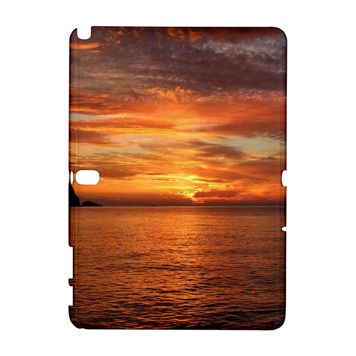 Sunset Sea Afterglow Boot Samsung Galaxy Note 10.1 (P600) Hardshell Case