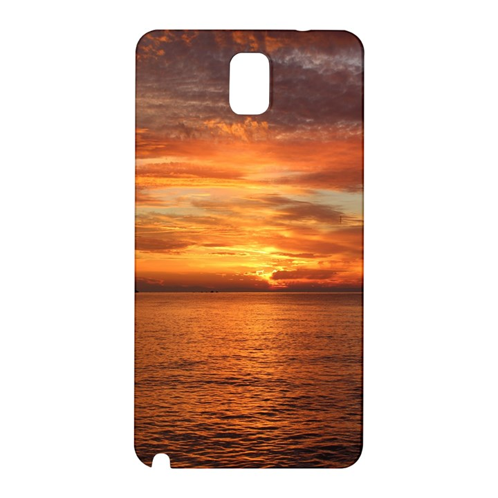 Sunset Sea Afterglow Boot Samsung Galaxy Note 3 N9005 Hardshell Back Case