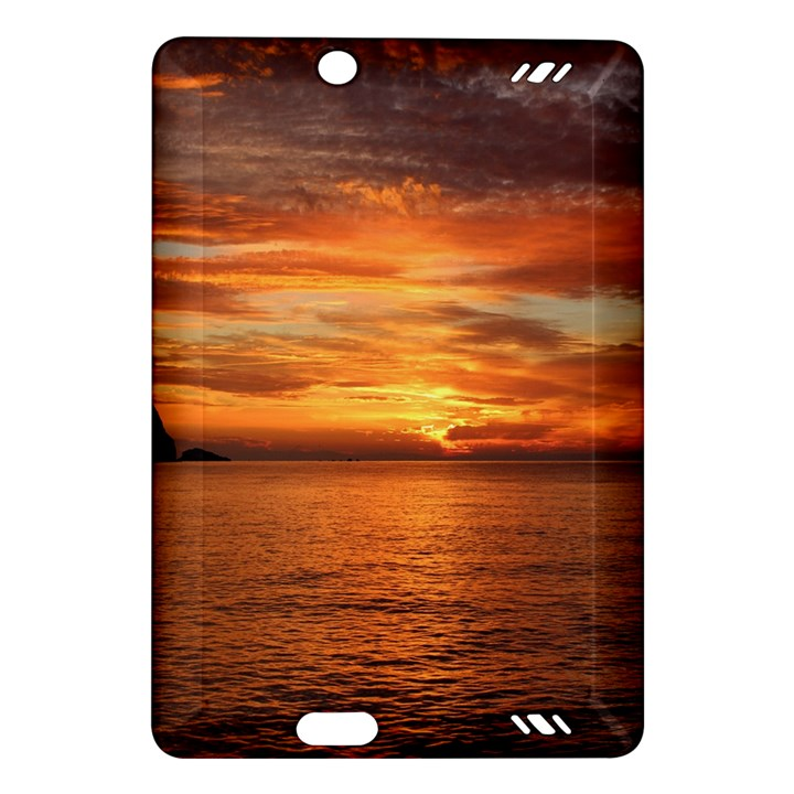 Sunset Sea Afterglow Boot Amazon Kindle Fire HD (2013) Hardshell Case