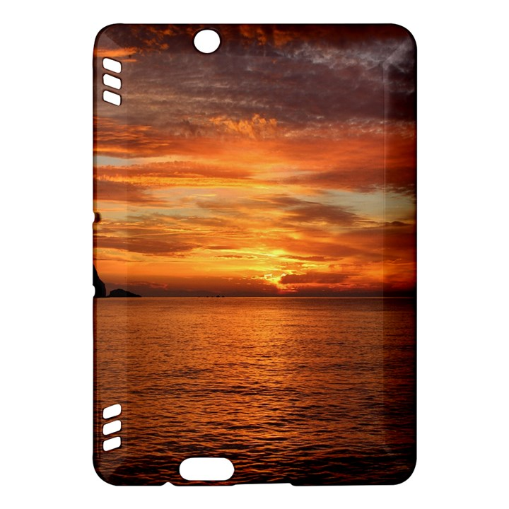 Sunset Sea Afterglow Boot Kindle Fire HDX Hardshell Case