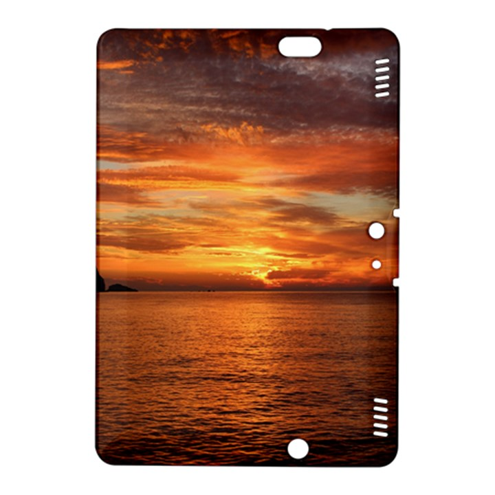 Sunset Sea Afterglow Boot Kindle Fire HDX 8.9  Hardshell Case