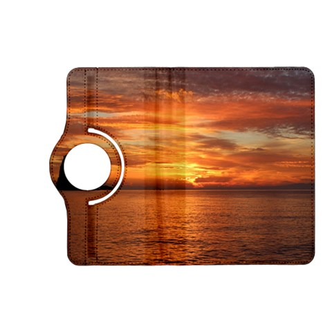 Sunset Sea Afterglow Boot Kindle Fire HD (2013) Flip 360 Case