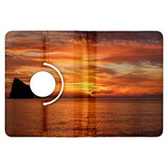 Sunset Sea Afterglow Boot Kindle Fire HDX Flip 360 Case