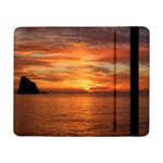 Sunset Sea Afterglow Boot Samsung Galaxy Tab Pro 8.4  Flip Case Front
