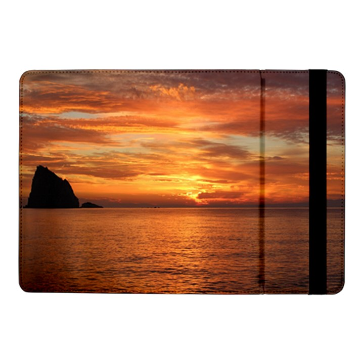 Sunset Sea Afterglow Boot Samsung Galaxy Tab Pro 10.1  Flip Case