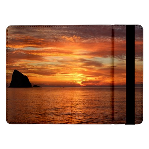 Sunset Sea Afterglow Boot Samsung Galaxy Tab Pro 12.2  Flip Case