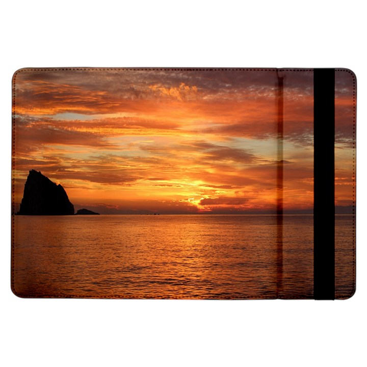 Sunset Sea Afterglow Boot iPad Air Flip