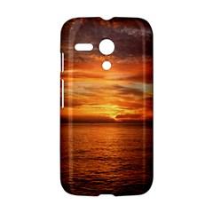 Sunset Sea Afterglow Boot Motorola Moto G