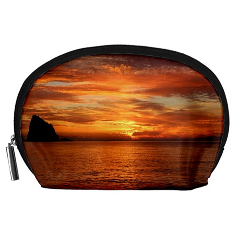 Sunset Sea Afterglow Boot Accessory Pouches (Large)