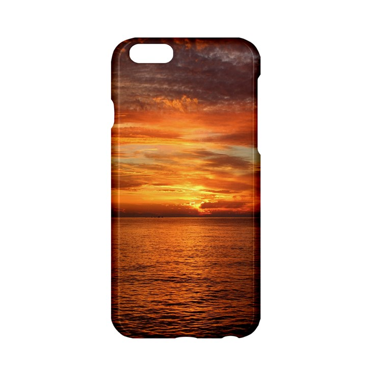 Sunset Sea Afterglow Boot Apple iPhone 6/6S Hardshell Case