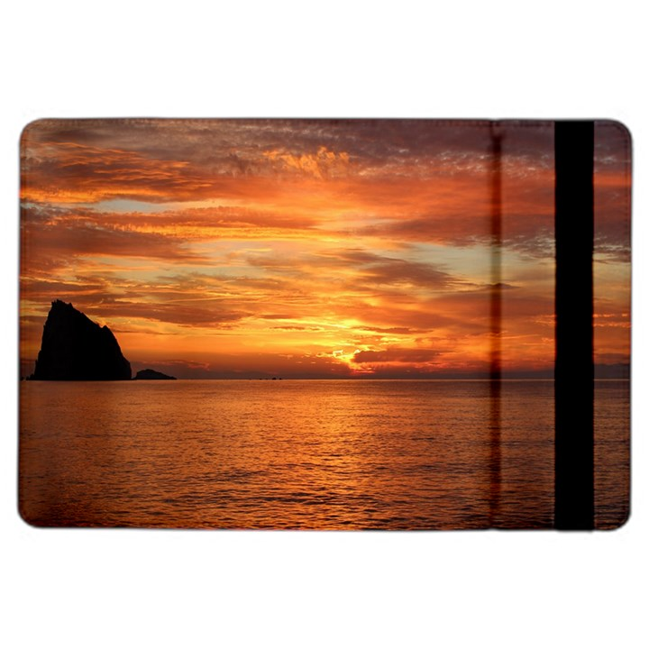 Sunset Sea Afterglow Boot iPad Air 2 Flip