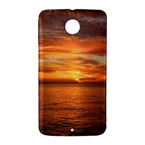 Sunset Sea Afterglow Boot Nexus 6 Case (White)