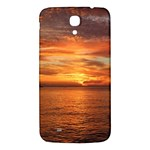 Sunset Sea Afterglow Boot Samsung Galaxy Mega I9200 Hardshell Back Case Front