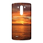 Sunset Sea Afterglow Boot LG G3 Back Case Front