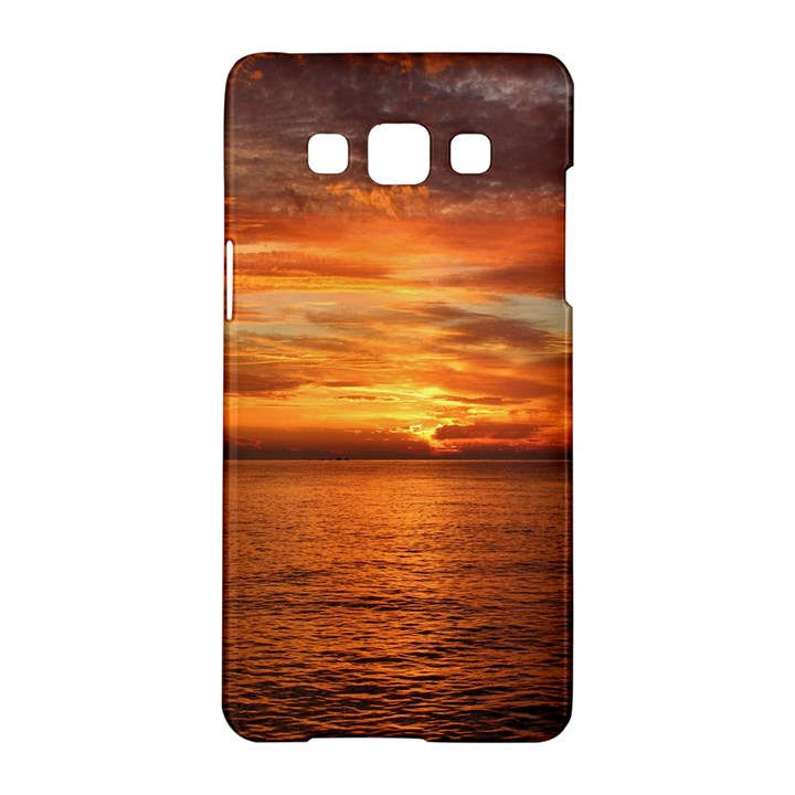 Sunset Sea Afterglow Boot Samsung Galaxy A5 Hardshell Case