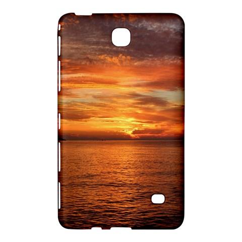 Sunset Sea Afterglow Boot Samsung Galaxy Tab 4 (8 ) Hardshell Case