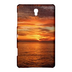Sunset Sea Afterglow Boot Samsung Galaxy Tab S (8.4 ) Hardshell Case