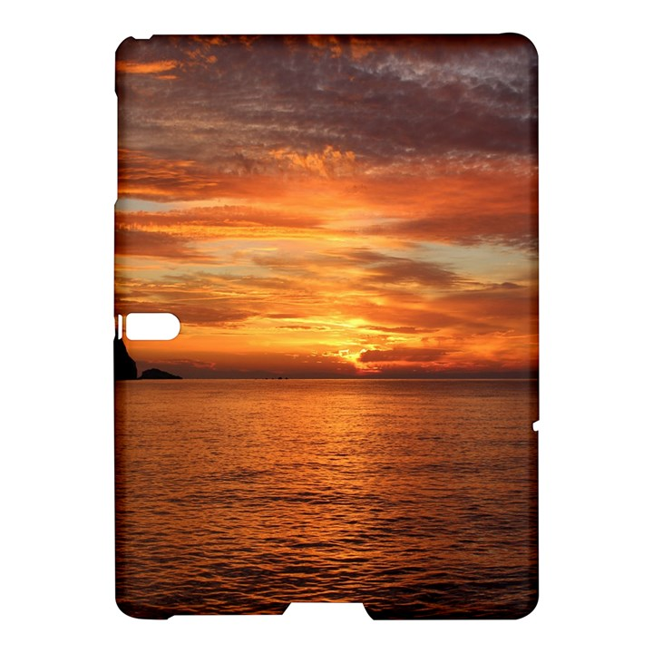Sunset Sea Afterglow Boot Samsung Galaxy Tab S (10.5 ) Hardshell Case