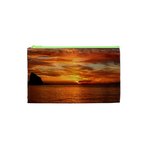 Sunset Sea Afterglow Boot Cosmetic Bag (XS)
