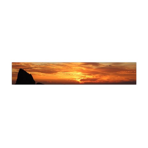 Sunset Sea Afterglow Boot Flano Scarf (Mini)