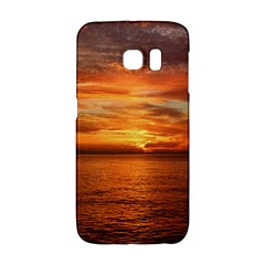 Sunset Sea Afterglow Boot Galaxy S6 Edge