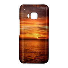 Sunset Sea Afterglow Boot HTC One M9 Hardshell Case