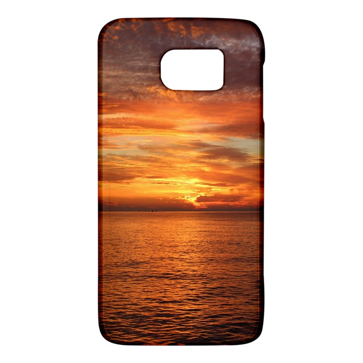 Sunset Sea Afterglow Boot Galaxy S6