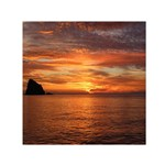 Sunset Sea Afterglow Boot Small Satin Scarf (Square) Front