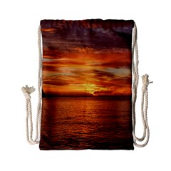 Sunset Sea Afterglow Boot Drawstring Bag (Small)