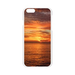 Sunset Sea Afterglow Boot Apple Seamless iPhone 6/6S Case (Transparent)
