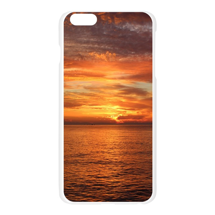 Sunset Sea Afterglow Boot Apple Seamless iPhone 6 Plus/6S Plus Case (Transparent)