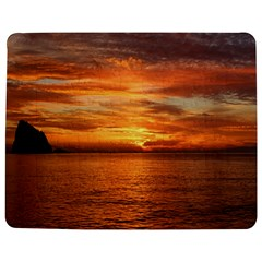 Sunset Sea Afterglow Boot Jigsaw Puzzle Photo Stand (Rectangular)